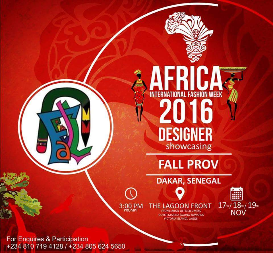 Africa International Fashion Week 2016