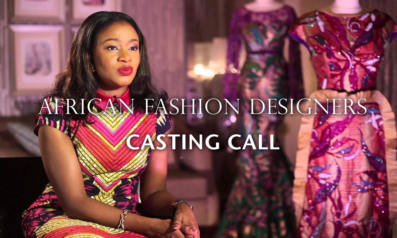 Casting calls Fashion Designers