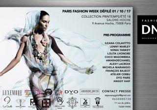 DNAFRICA-DN AFRICA-PARIS FASHION WEEK-SS 18