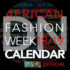 Official African Fashion Weeks Calendar 18/19