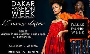 Dakar Fashion Week 2017 : Dates