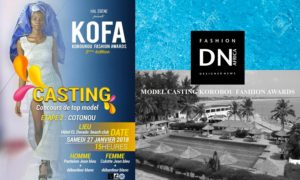 KOBOUROU FASHION AWARDS – KOFA 2018 – CASTING CALL COTONOU