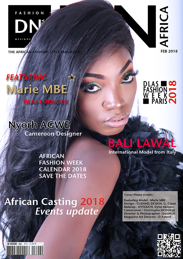 Featuring Marie MBE - DN AFRICA, African Fashion Style Magazine, Fashion Style Magazines