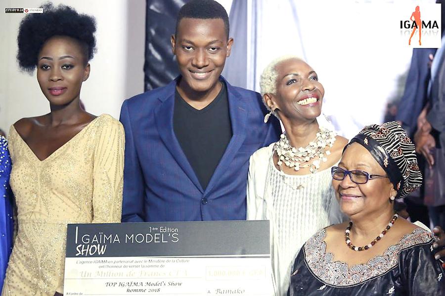 AFRICAN-FASHION-STYLE-MAGAZINE-IGAIMA-MODEL'S-SHOW-FADI MAIGA- Aminata Keita Maïga PREMIERE DAME DU MALI-INDIRA EVENTS-DN AFRICA-STUDIO 24 NIGERIA- DAN NGU