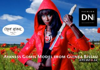 AFRICAN FASHION STYLE MAGAZINE-ETHNIC SURVIVAL- MARC BELL Designer - Odilya ForgatyGolden - AYANES GOMIS - DN AFRICA-STUDIO 24 NIGERIA