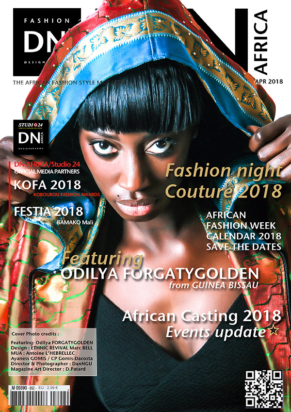 Featuring ODILYA FORGATYGOLDEN - DN AFRICA, African Fashion Style Magazine, Fashion Style Magazines