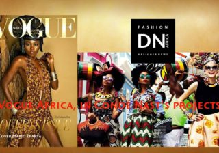 AFRICAN FASHION MAGAZINE - VOGUE ARABIA - BRITISH VOGUE - NAOMIE CAMPBELL - DN AFRICA - STUDIO 24 NIGERIA