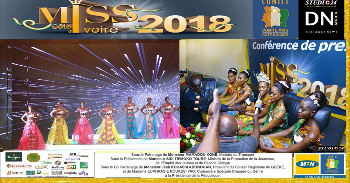 AFRICAN FASHION STYLE MAGAZINE -MISS IVORY COAST 2018 - MISS MARIE-DANIELLE SUY FATEM - DN AFRICA - STUDIO 24 NIGERIA