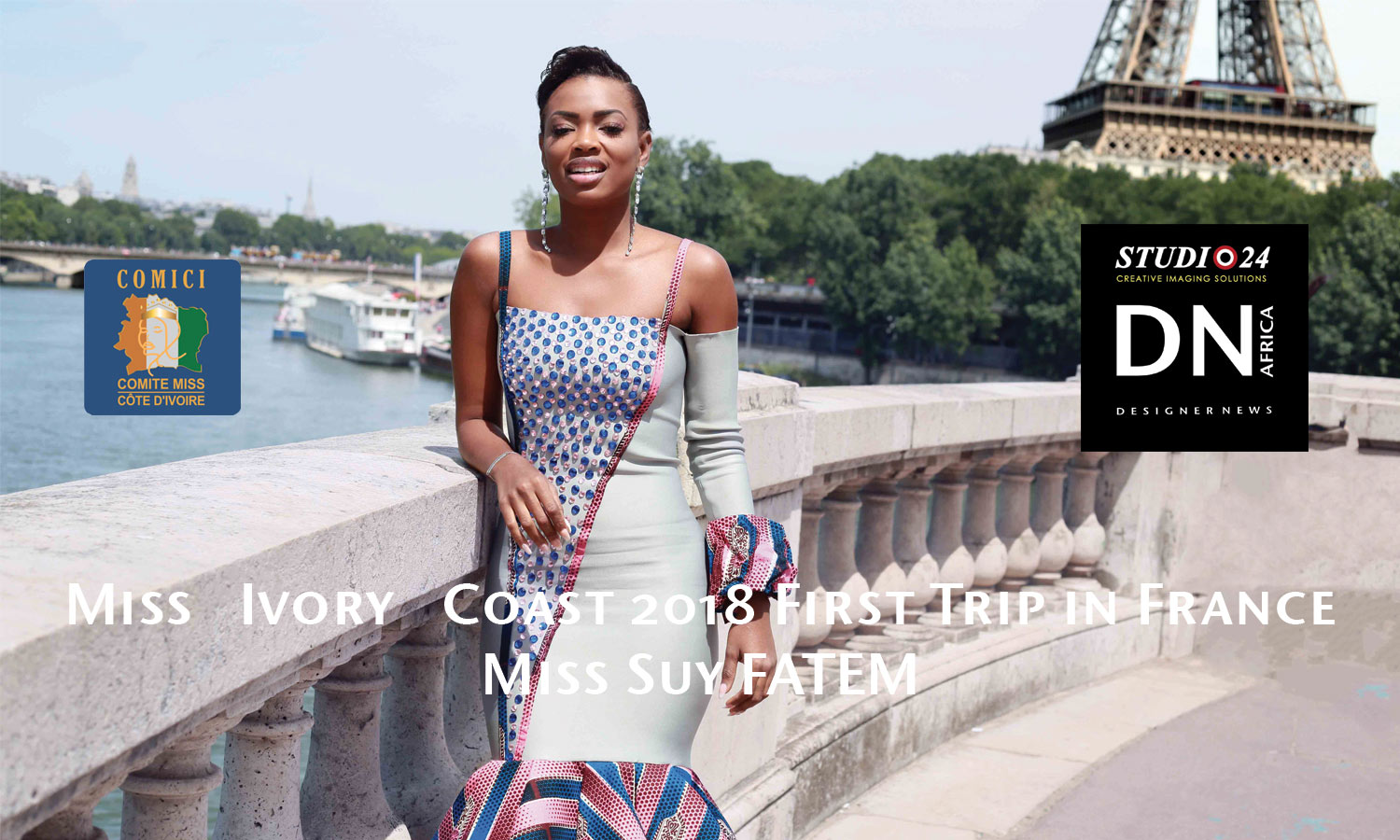 AFRICAN FASHION STYLE MAGAZINE - MISS IVORY COAST 2018 - MISS MARIE-DANIELLE SUY FATEM - DN AFRICA - STUDIO 24 NIGERIA