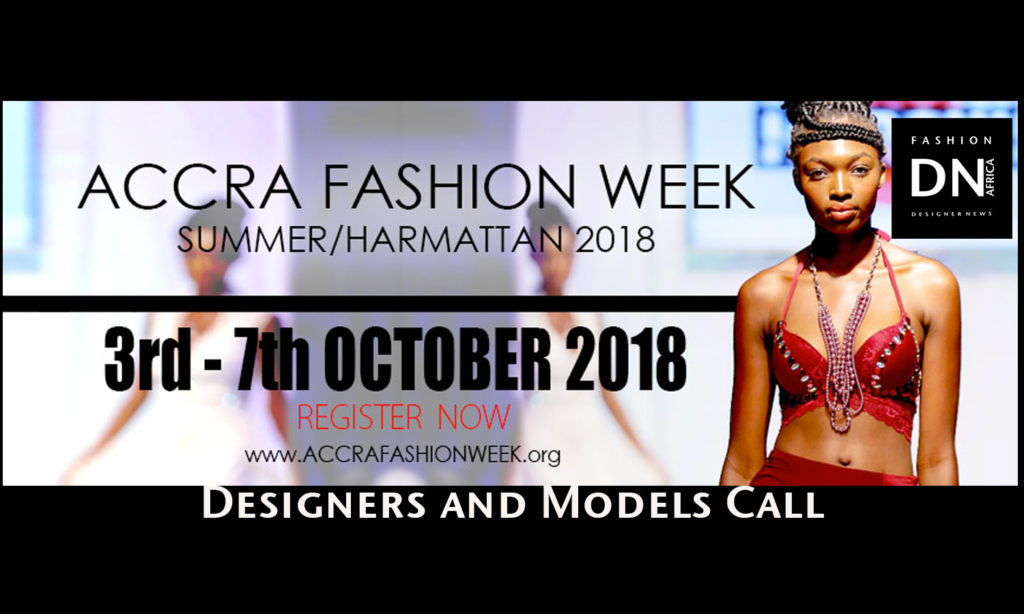ACCRA FASHION WEEK 2018 Models Casting Call