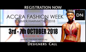 ACCRA FASHION WEEK 2018 Designers Call