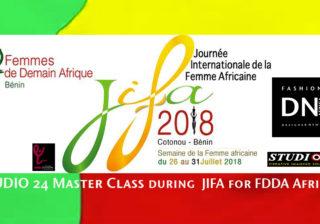 AFRICAN FASHION STYLE MAGAZINE - FFDA - Yolande Esternida - President of FDDA for Africa - International Day of the African Woman Cotonou Benin -Indira Events - indira Yanni Domingo - DN AFRICA - STUDIO 24 NIGERIA - chamber of commerce of benin