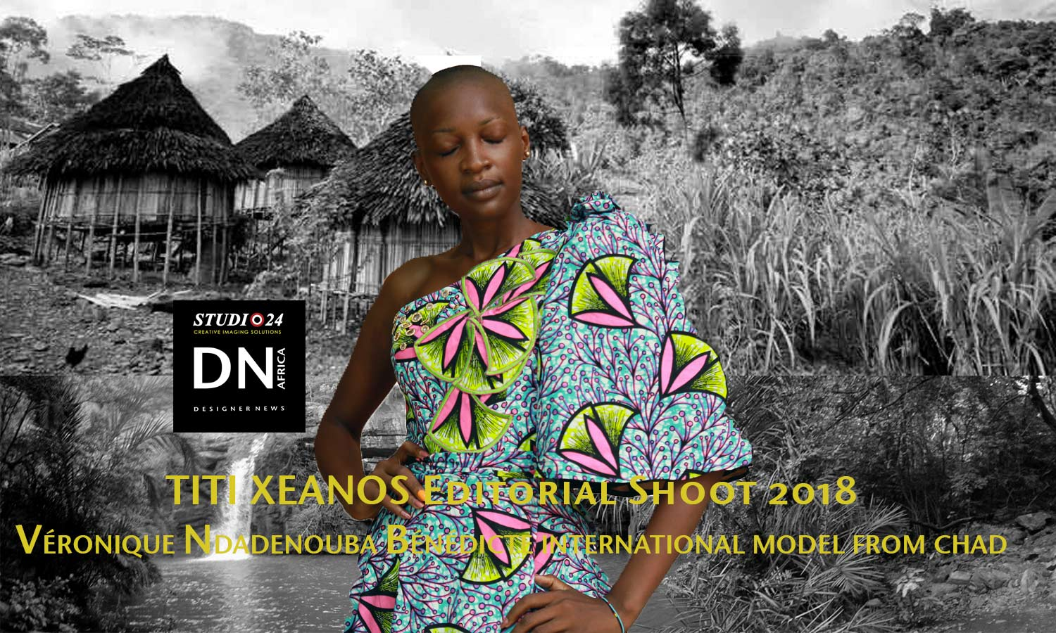 AFRICA FASHION STYLE MAGAZINE - KOFA 2nd Edition Organized by Hal Ebene Kobourou Fashion Awards from Parakou (Benin) – Designer TITI XENAOS from Ivory Coast - Model VÉRONIQUE NDADENOUBA BÉNÉDICTE from Chad – Exclusive contents for DN AFRICA and STUDIO 24 NIGERIA