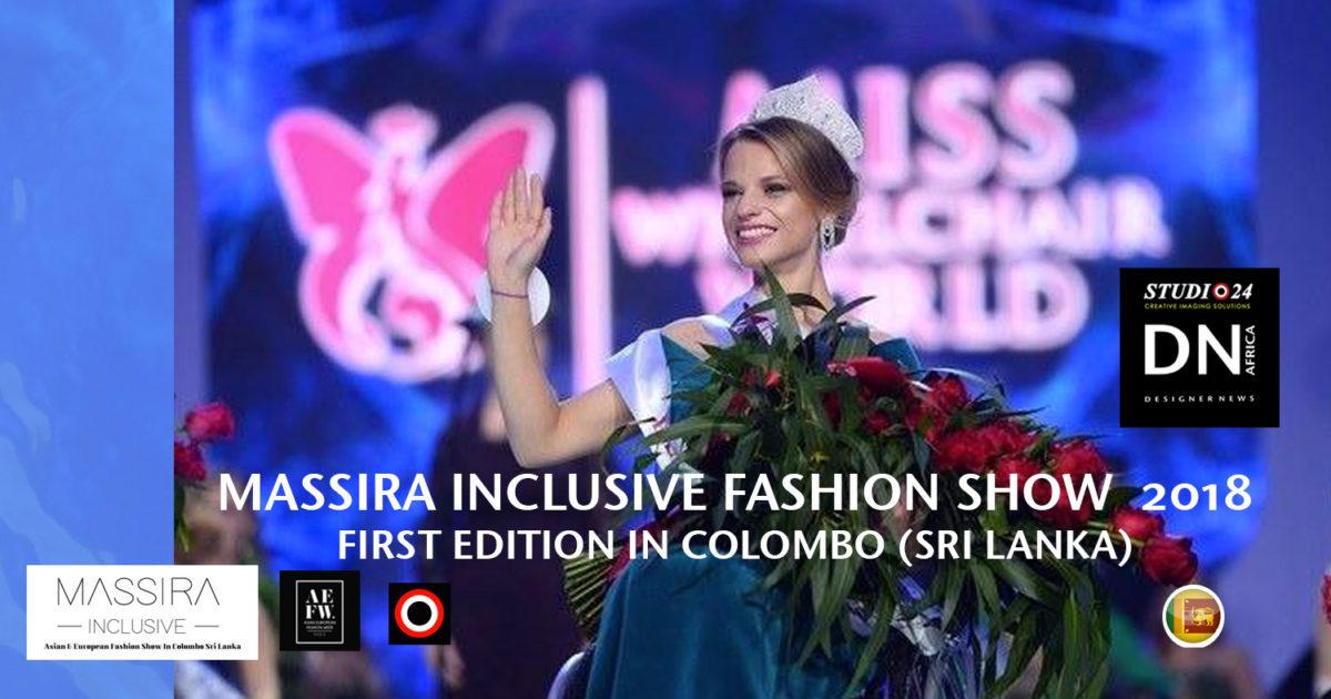 AFRICAN FASHION STYLE MAGAZINE- MASSIRA INCLUSIVE 2018 1st EDITION - ORGANIZER Studio FDO by Rex Christy Fernando - Colombo - Road Marine Drive Skri Lanka -DN AFRICA - STUDIO 24 NIGERIA - Asian & European Fashion Week in Colombo
