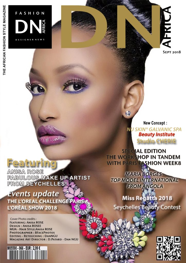 African Fashion Style Magazine Anisa Rose September 2018 Cover Dn Africa Magazine