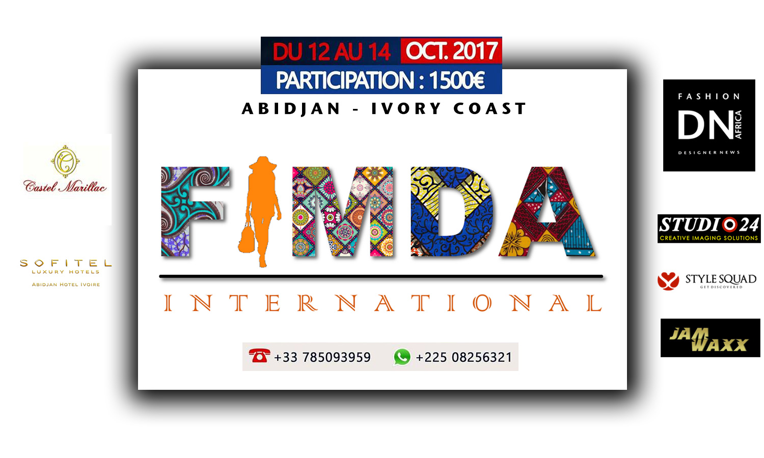 Mode Africaine -DNAFRICA-visual-FIMDA-ABIDJAN-2017