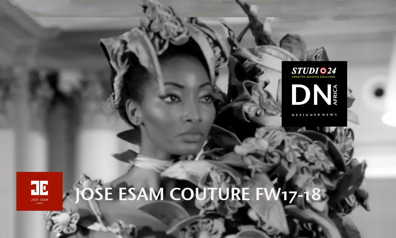 AFRICAN FASHION STYLE MAGAZINE - JOSE ESAM FROM CONGO - DN AFRICA - STUDIO 24 NIGERIA