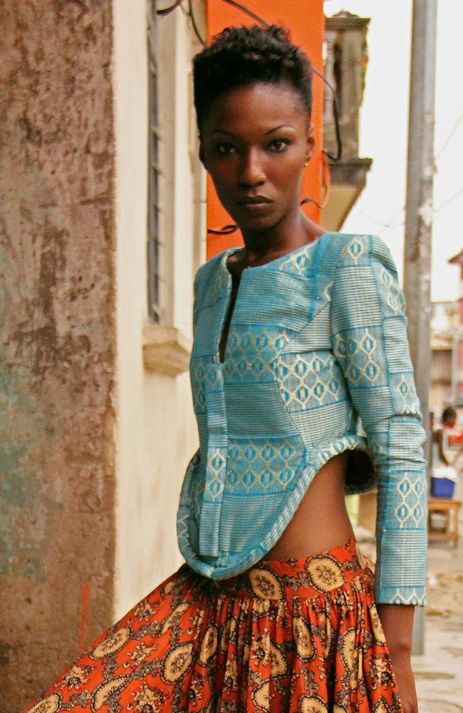 African fashion style magazine- lozamaleombho-Model design SAHARA II 2017