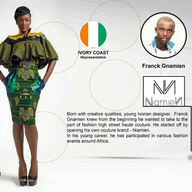 MODE AFRICAINE-AFRICAN FASHION RECEPTION 2017-FRANCK GNAMIEN