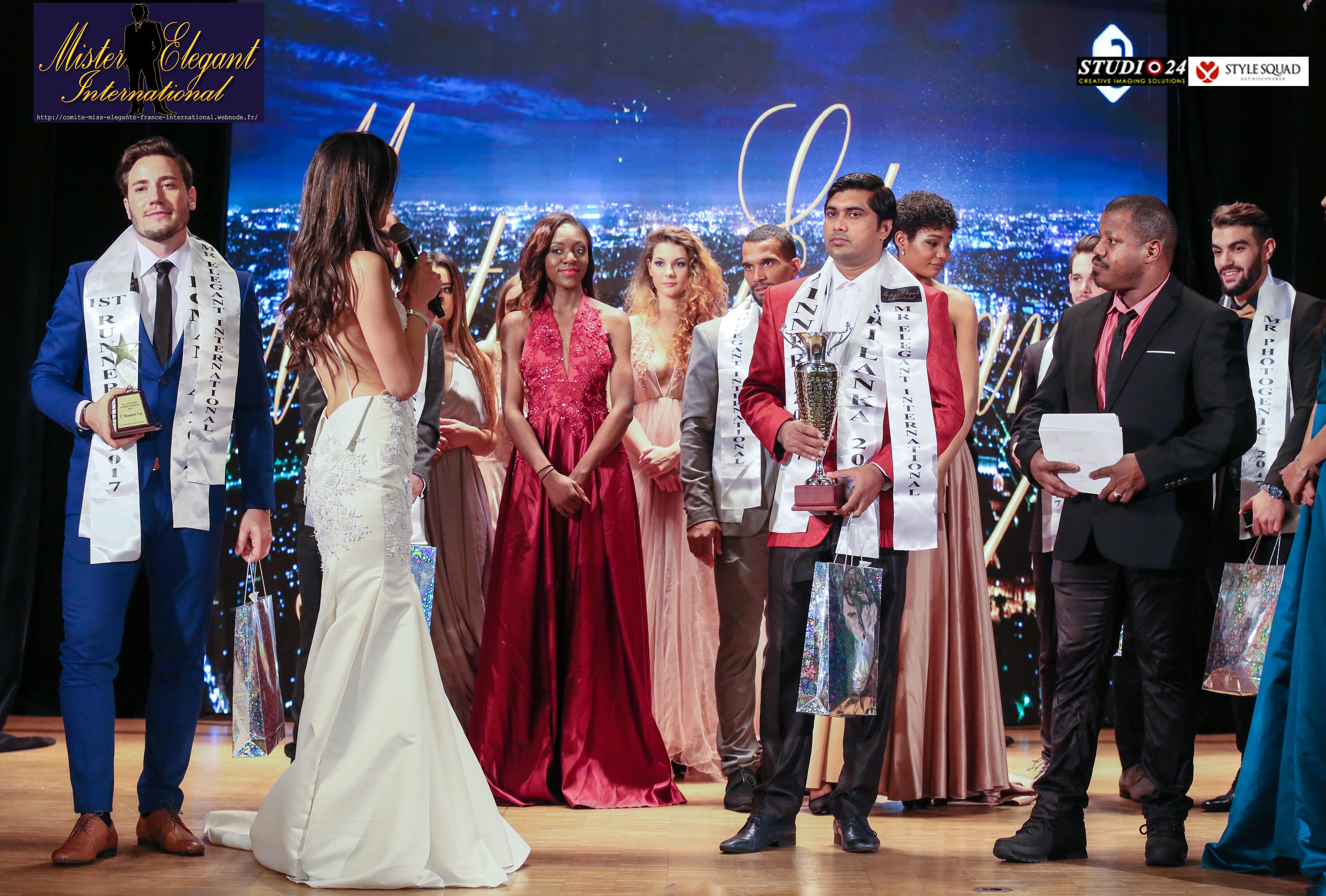 Prasad Deshapriya - Mister Elegant International 2017