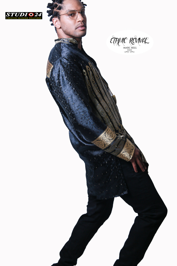 AFRICAN FASHION STYLE MAGAZINE-ETHNIC SURVIVAL- MARC BELL- BAPTISTE BRYANT - AYANESS GOMIS - DN AFRICA-STUDIO 24 NIGERIA
