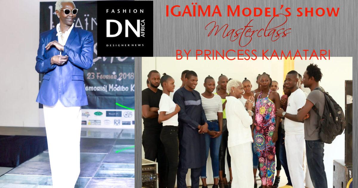 AFRICAN-FASHION-STYLE-MAGAZINE-IGAIMA-MODEL'S-SHOW MASTER CLASS-FADI-MAIGA-INDIRA-yanni-domingo-Princess Esther Kamatari -dn-africa-studio-24-nigeria