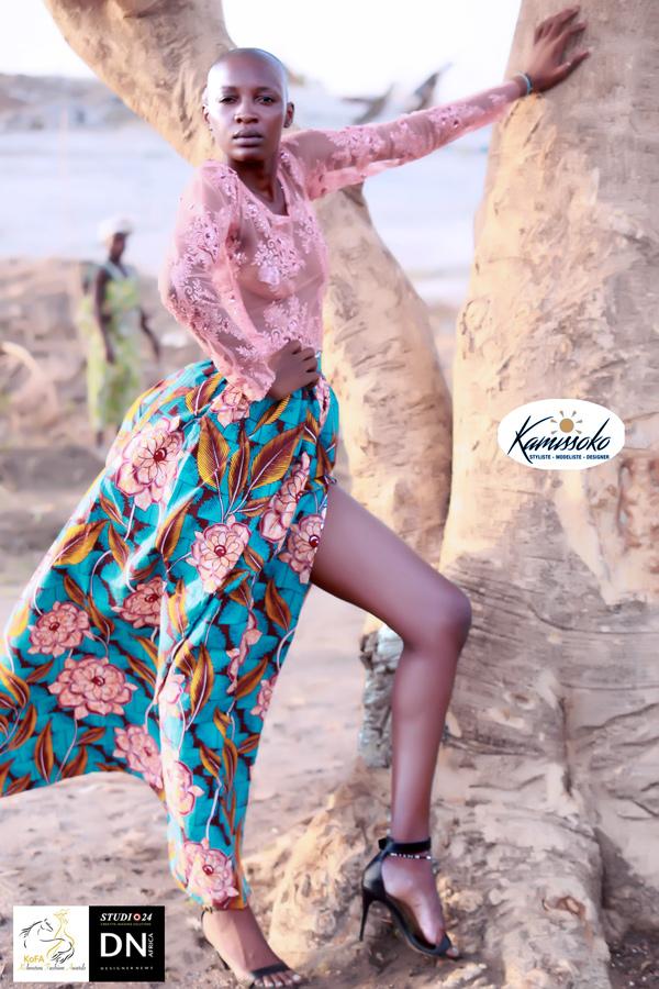 AFRICAN FASHION STYLE MAGAZINE-KOFA-KAMISSOKO -Véronique ndadenouba Bénédicte FROM TCHAD - DN AFRICA - STUDIO 24 NIGERIA