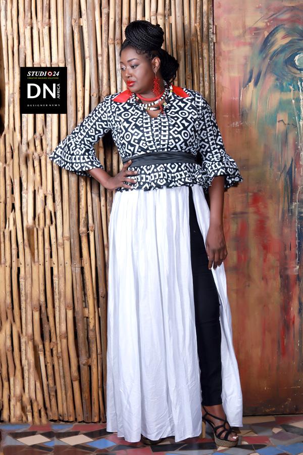 AFRICAN FASHION STYLE MAGAZINE - Mariah Bocoum Keita - Les peches mignons -dn africa-STUDIO 24 NIGERIA