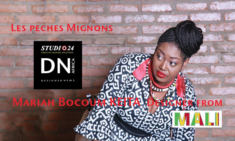 AFRICAN FASHION STYLE MAGAZINE - Mariah Bocoum Keita - Les peches mignons -dn africa- studio 24 nigeria