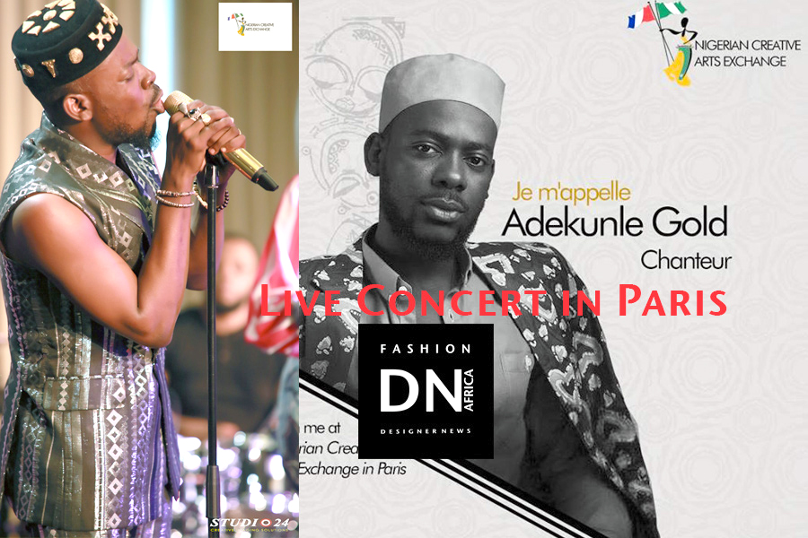 NIGERIAN CREATIVE ARTS EXCHANGE 2018  - ADEKUNLE GOLD live Concert - DN AFRICA /  STUDIO24 NIGERIA Media Partner