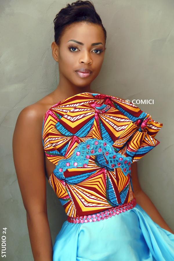 AFRICAN FASHION STYLE MAGAZINE - MISS IVORY COAST 2018 - MISS MARIE-DANIELLE SUY FATEM - DN AFRICA - STUDIO 24 NIGERIA - CHEVEUX CHERIE