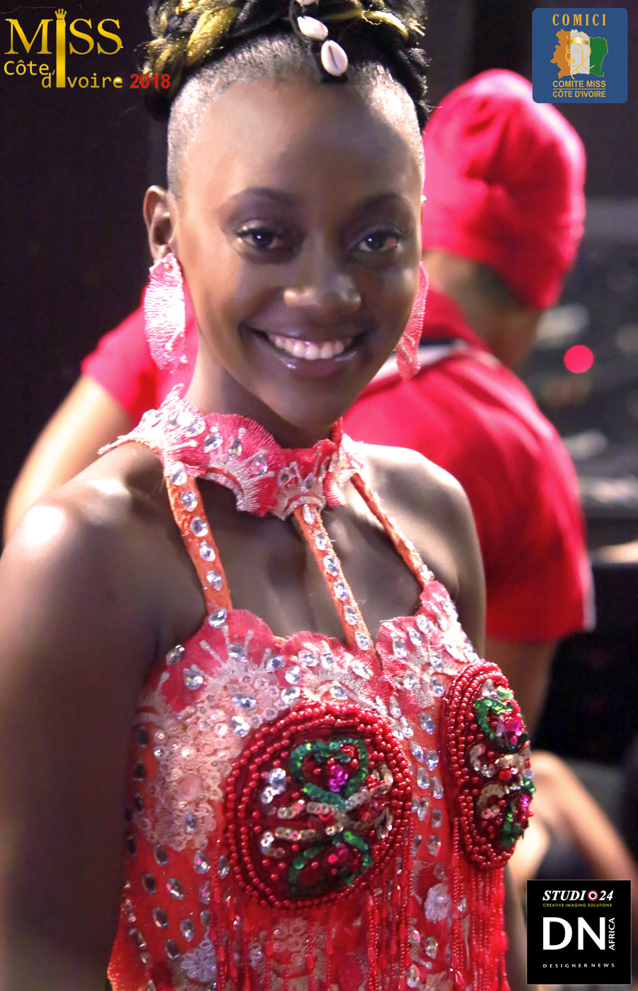 AFRICAN FASHION STYLE MAGAZINE - MISS IVORY COAST 2018 - MISS MARIE-DANIELLE SUY FATEM BEST ALBUM BACKSTAGE - DN AFRICA - STUDIO 24 NIGERIA