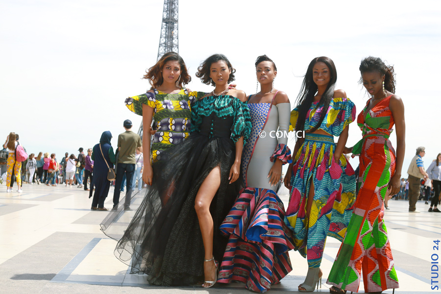 AFRICAN FASHION STYLE MAGAZINE -MISS IVORY COAST 2018 - MISS MARIE-DANIELLE SUY FATEM - DN AFRICA - STUDIO 24 NIGERIA