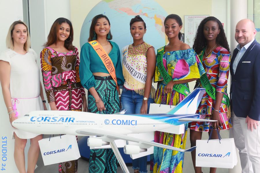 AFRICAN FASHION STYLE MAGAZINE - BATEAUX PARISIENS - MISS IVORY COAST 2018 - MISS MARIE-DANIELLE SUY FATEM - DN AFRICA - STUDIO 24 NIGERIA - Corsair International