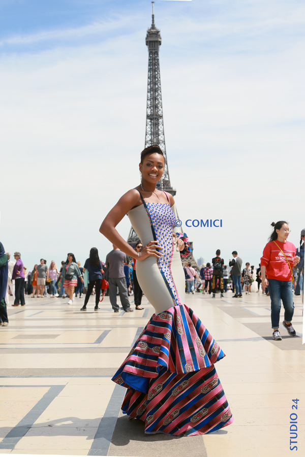 AFRICAN FASHION STYLE MAGAZINE - BATEAUX PARISIENS - MISS IVORY COAST 2018 - MISS MARIE-DANIELLE SUY FATEM - DN AFRICA - STUDIO 24 NIGERIA