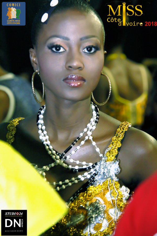 AFRICAN FASHION STYLE MAGAZINE - MISS IVORY COAST 2018 - MISS MARIE-DANIELLE SUY FATEM - DN AFRICA - STUDIO 24 NIGERIA