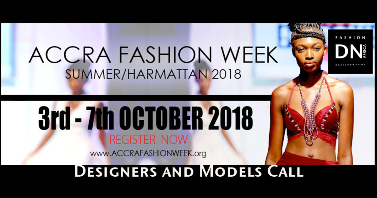 ACCRA FASHION WEEK 2018 Models Casting Call  10b77672e