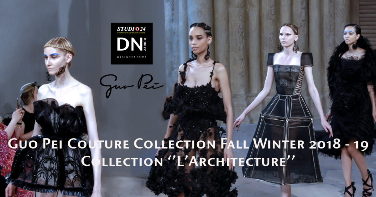 3ac13b61a99 GUO PEI Couture Collection Fall Winter 2018 – 19 PFW