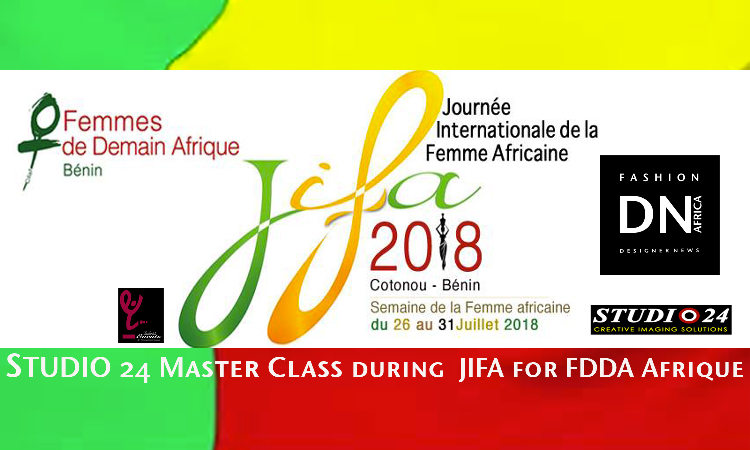 AFRICAN FASHION STYLE MAGAZINE - FFDA - Yolande Esternida - President of FDDA for Africa - International Day of the African Woman Cotonou Benin -Indira Events - indira Yanni Domingo - DN AFRICA - STUDIO 24 NIGERIA - chamber of commerce of benin