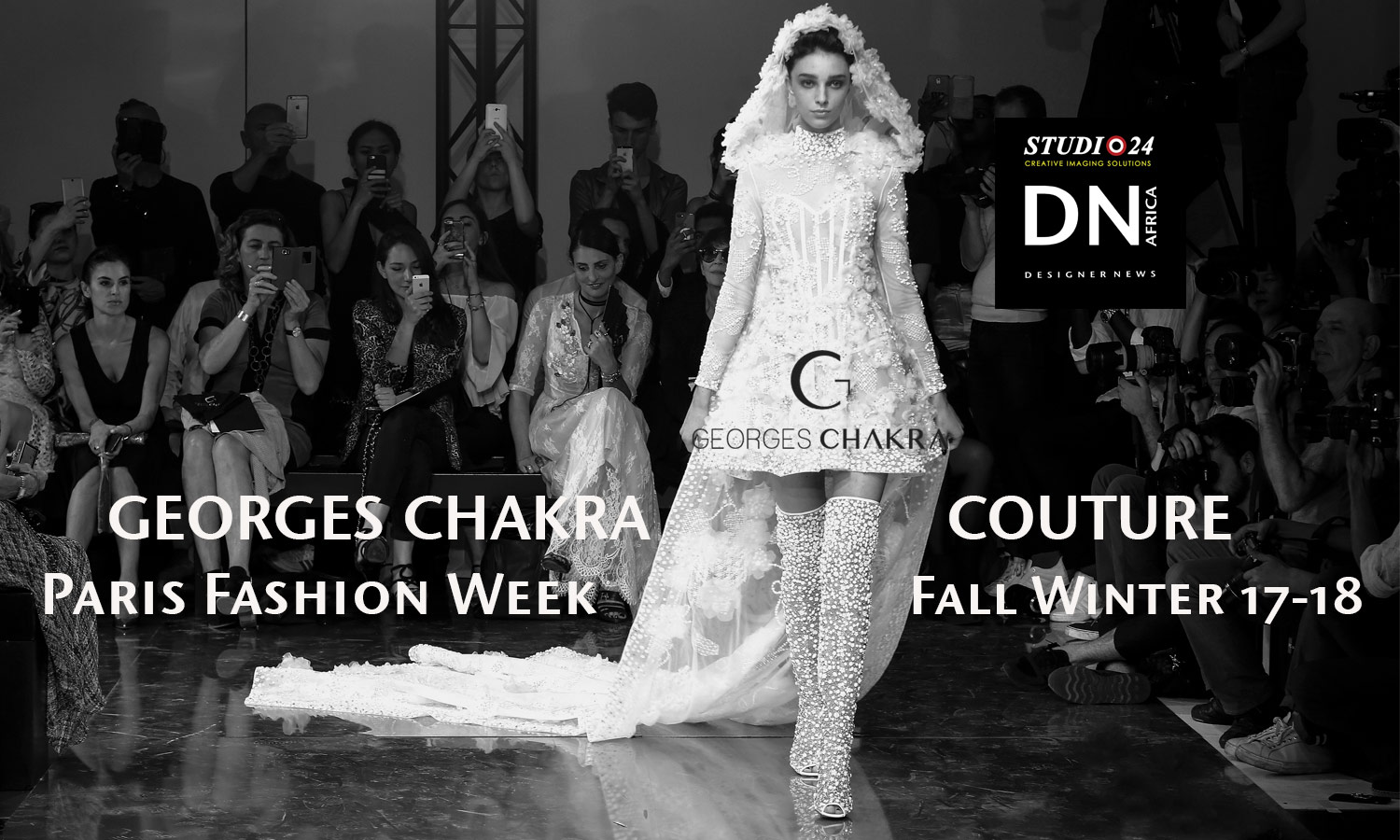 AFRICAN FASHION STYLE MAGAZINE - DESIGNER GEORGES CHAKRA COUTURE