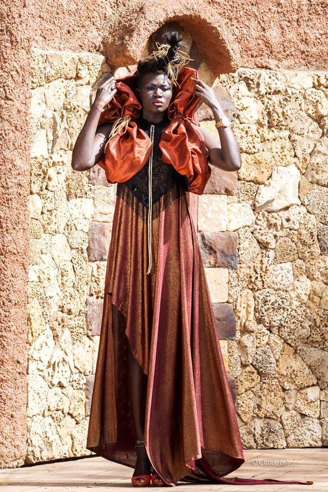 AFRICAN FASHION STYLE MAGAZINE - Editorial Shooting -Designer Mame Faguèye Bâ - Photographer Claude FEIX -Theater ''L'engouement' -Media Partner DN MAG, DN AFRICA -STUDIO 24 NIGERIA - STUDIO 24 INTERNATIONAL