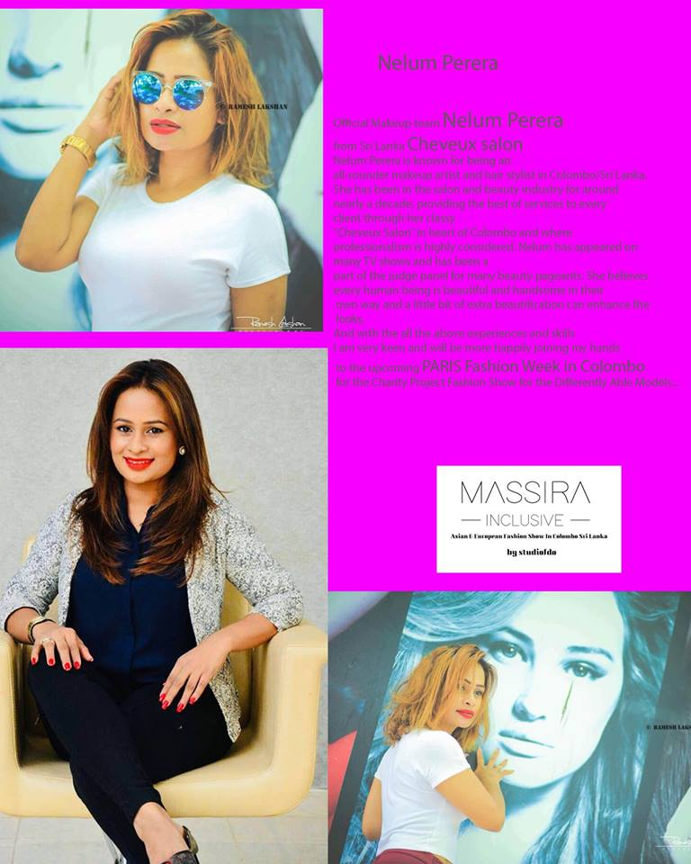 AFRICAN FASHION STYLE MAGAZINE- MASSIRA INCLUSIVE 2018 1st EDITION - ORGANIZER Studio FDO by Rex Christy Fernando - Colombo - Road Marine Drive Skri Lanka -DN AFRICA - STUDIO 24 NIGERIA - Asian & European Fashion Week in Colombo - Makeup Artist Nelum Perera