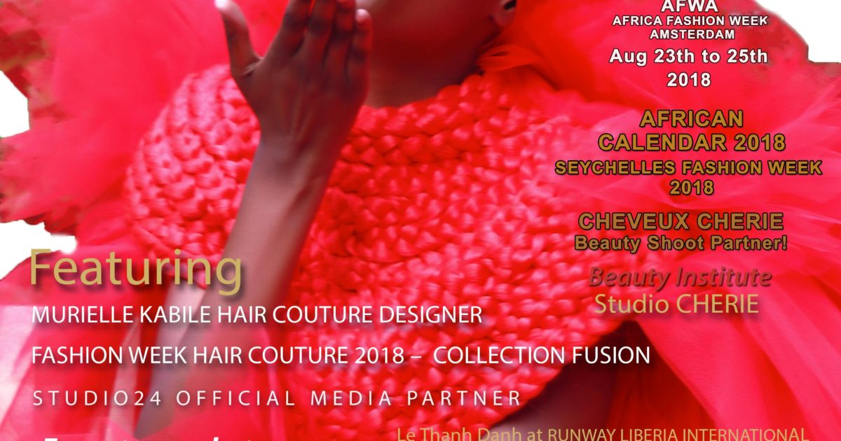 AFRICAN FASHION STYLE MAGAZINE – Mariame-Sakanoko – Egeria for MURIELLE KABILE HAIR COUTURE DESIGNER - DN AFRICA August Number 051 2018 -Media Partner DN MAG, DN AFRICA -STUDIO 24 NIGERIA - STUDIO 24 INTERNATIONAL