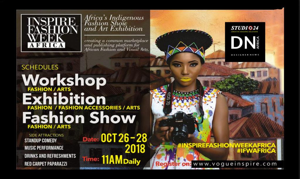 Inspire Fashion Week Africa – IFWA 2018