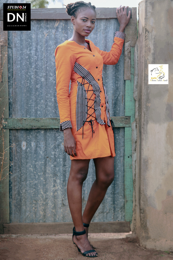 AFRICA FASHION STYLE MAGAZINE - KOBOUROU FASHION AWARDS - KOFA 2nd Edition Organized by Hal Ebene Kobourou Fashion Awards from Parakou (Benin) – Designer Fidele Premier from Burkina by Fidele Premier - Model Coulibali Sfeffanie from Burkina – Exclusive contents for DN AFRICA and STUDIO 24 NIGERIA