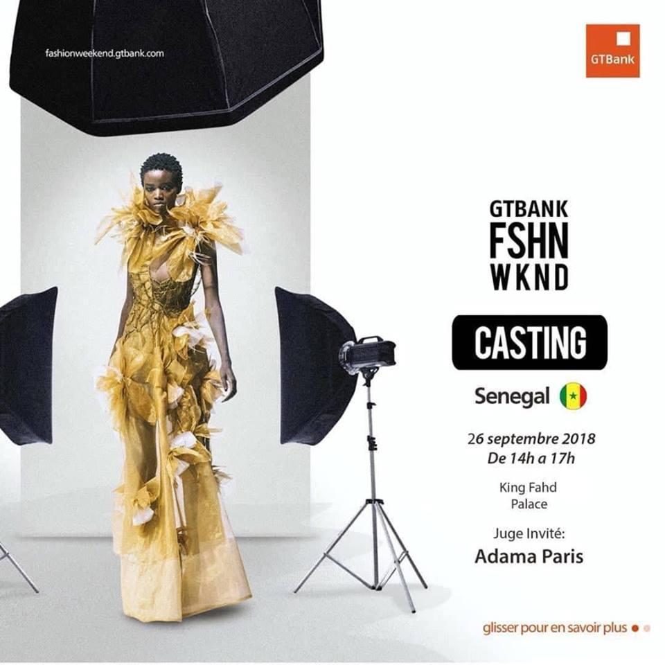 AFRICAN FASHION STYLE MAGAZINE - GTBank-Fashion-Weekend-Season-III - SENEGAL Casting-Call-Models - Media Partner DN MAG, DN AFRICA-STUDIO 24 NIGERIA - STUDIO 24 INTERNATIONAL