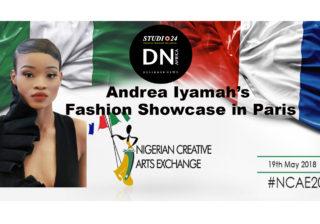 DNAFRICA-Cover-MAY 2018 Mag Number 52 Lara JALLOH - Designer Andrea Iyamah - NIGERIAN CREATIVE ARTS EXCHANGE 2018 - NCAE -Media Partner DN MAG, DN AFRICA-STUDIO 24 NIGERIA - STUDIO 24 INTERNATIONAL - DN MAG - Indirâh Events & Communication