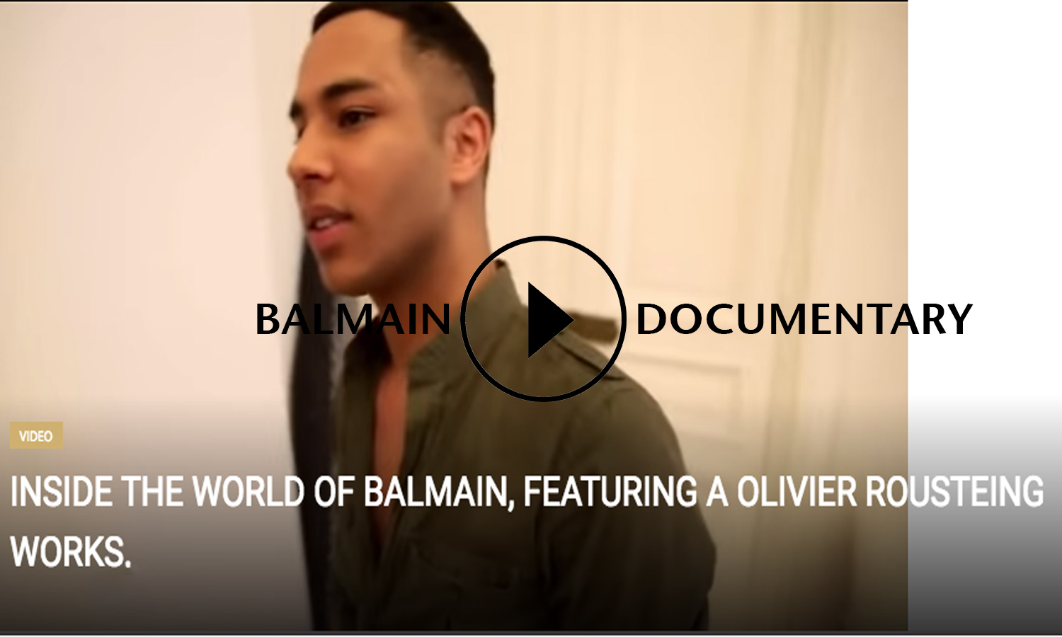AFRICAN FASHION STYLE MAGAZINE - Inside-the-world-of-Balmain,-featuring-a-Olivier-Rousteing-works - BANGUMI PRODUCTION - A FILM BY LOIC PRIGENT -Media Partner DN MAG, DN AFRICA -STUDIO 24 NIGERIA - STUDIO 24 INTERNATIONAL