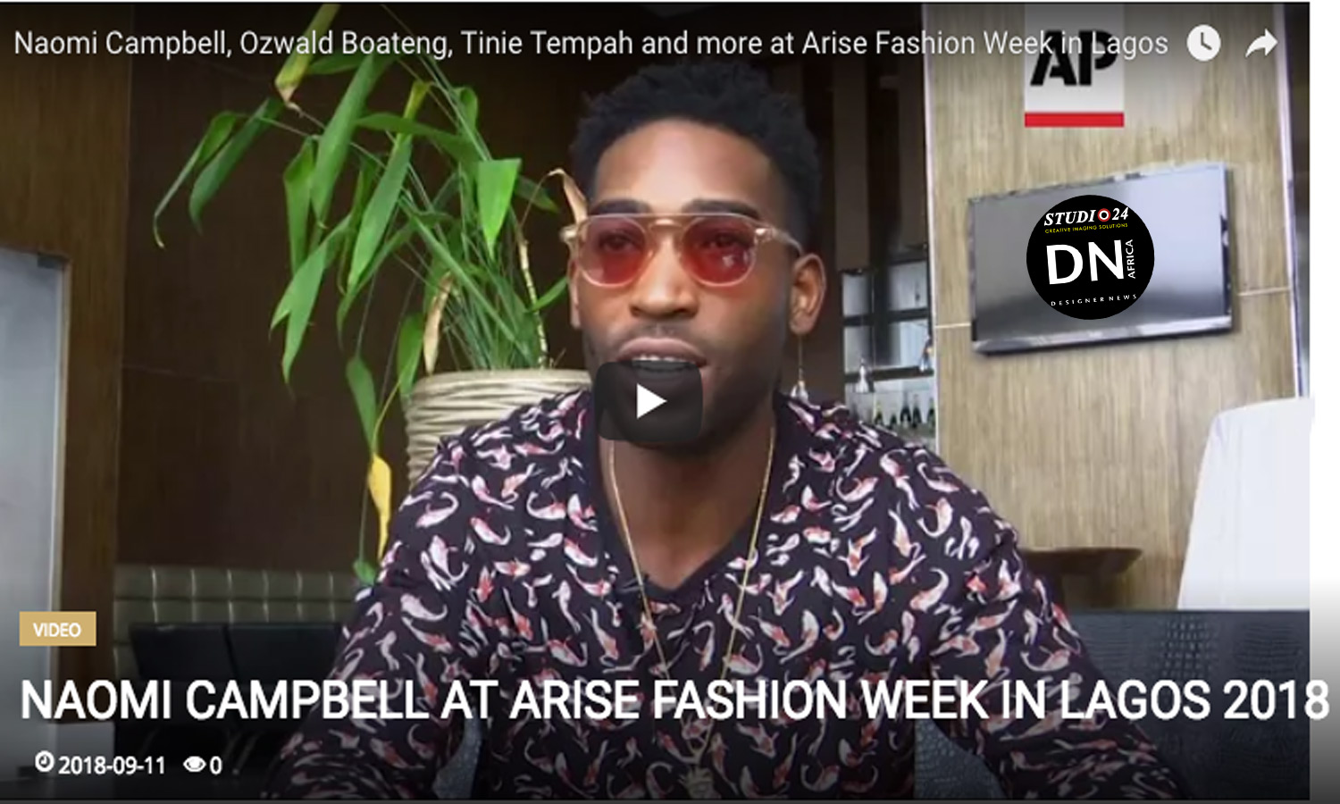 AFRICAN FASHION STYLE MAGAZINE - Naomi-Campbell-at-Arise-Fashion-Week-in-Lagos-2018 -Media Partner DN MAG, DN AFRICA -STUDIO 24 NIGERIA - STUDIO 24 INTERNATIONAL