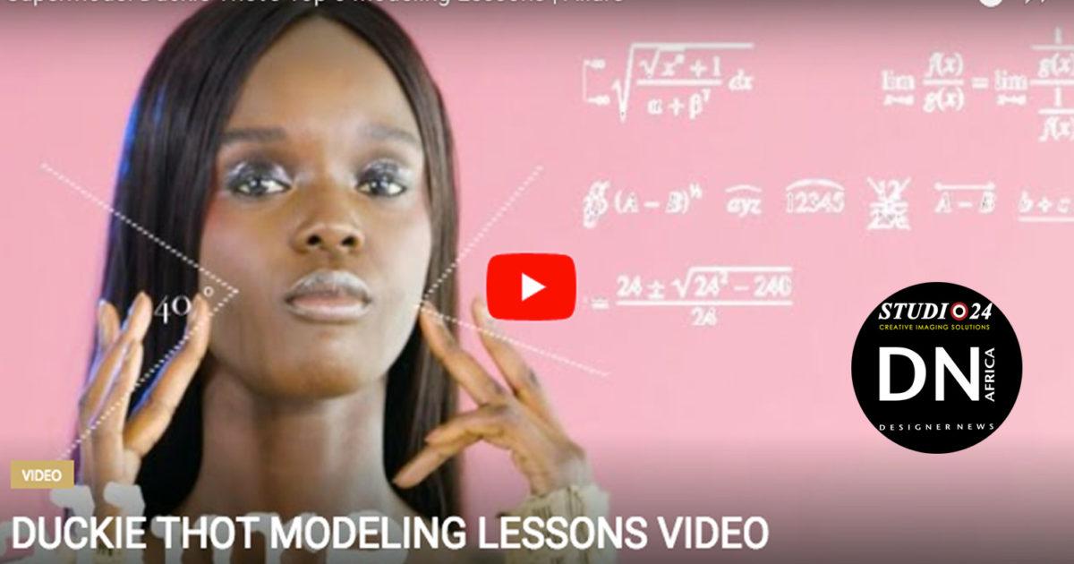 AFRICAN FASHION STYLE MAGAZINE - Supermodel-Duckie-Thot's-Top-6-Modeling-Lessons-Allure - Media Partner DN MAG, DN AFRICA-STUDIO 24 NIGERIA - STUDIO 24 INTERNATIONAL